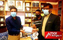 চট্টগ্রাম জেলা প্রশাসকের ত্রান তহবিলে ১০ লক্ষ টাকা দিল সাইফ পাওয়ারটেক লি: