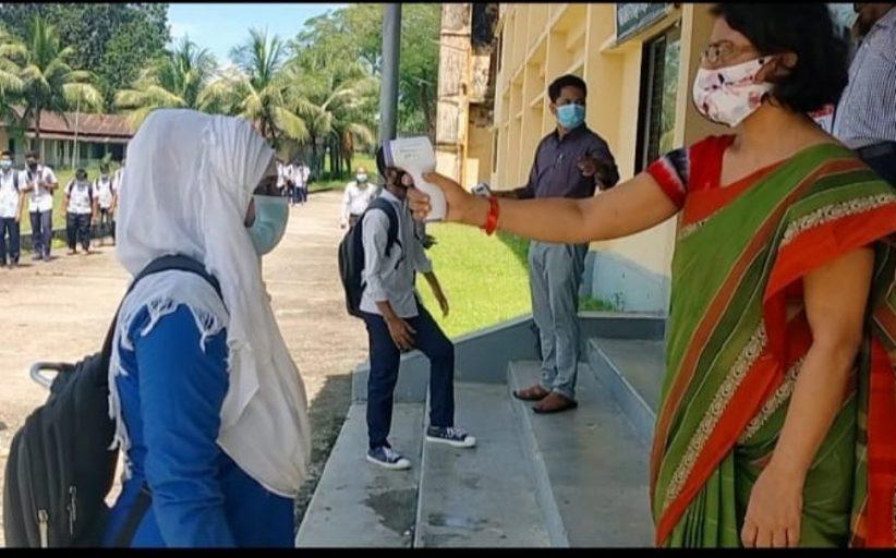 কাপ্তাই বিদ্যুৎ উন্নয়ন বোর্ড মাধ্যমিক বিদ্যালয়ে স্বাস্থ্যবিধি মেনে শিক্ষা কার্যক্রম সন্তোষজনক