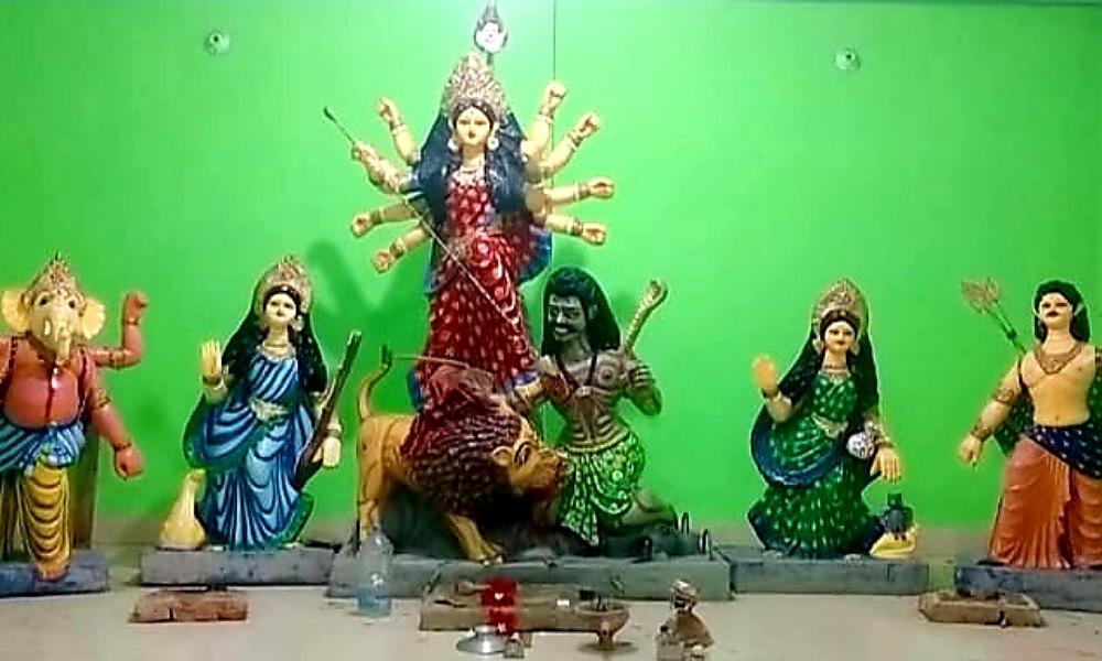 রাঙ্গামাটিতে দুর্গাপুজার প্রস্তুতি কার্যক্রম শতভাগ সম্পন্ন